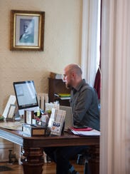 Jordan Davis is one of the owners and innkeepers at