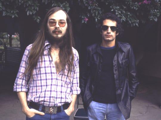 Walter Becker and Donald Fagen of Steely Dan in 1977.
