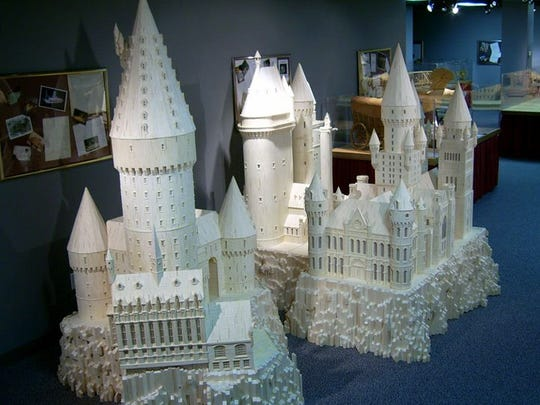 """The Matchstick Marvels Museum in Gladbrook features a replica of Hogwarts, the magic school featured in the """"Harry Potter"""" books and films."""