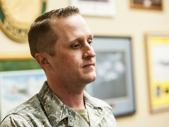 Staff Sgt. Joseph Stalzer helped save 18-month-old