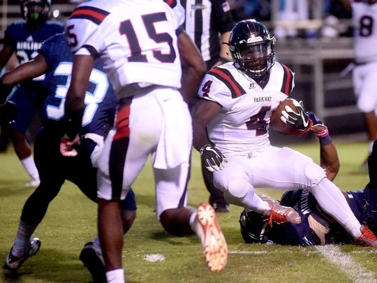 Parkway's Eric Williams carried his team to a win over