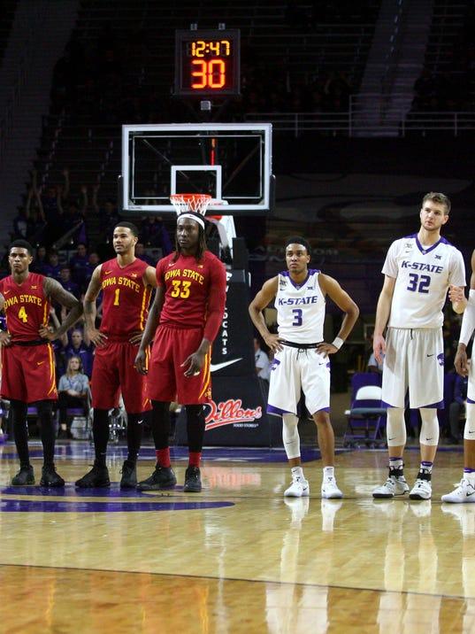 USP NCAA BASKETBALL: IOWA STATE AT KANSAS STATE S BKC USA KS