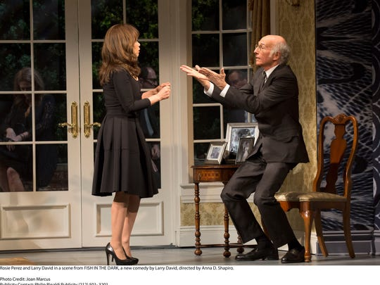 """Rosie Perez plays the housekeeper in """"Fish in the Dark,"""" written by Larry David, who also stars in the show."""