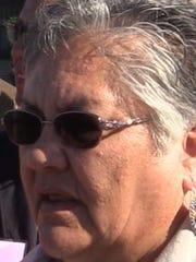 Lois Springer-Wesley of San Carlos, Ariz.