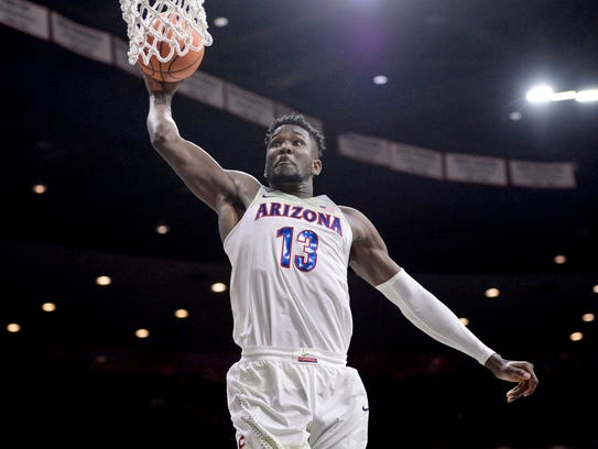 Arizona forward Deandre Ayton could be the first No.