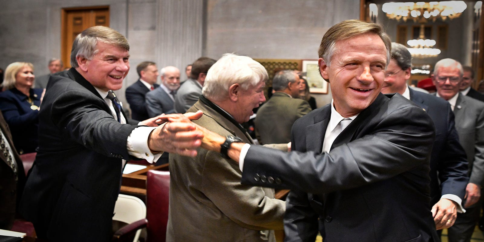 Tennessee election: Former Governor Bill Haslam won't run for Senate