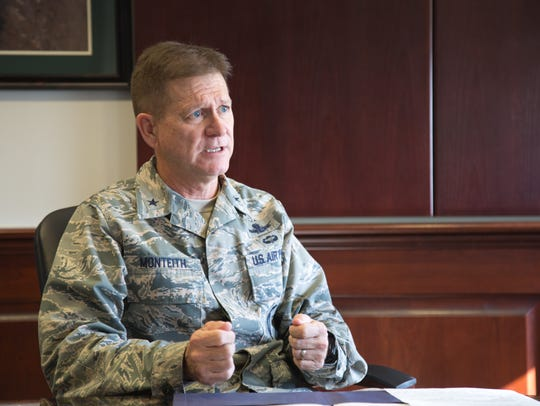 Air Force Brig. Gen. Wayne Monteith is commander of