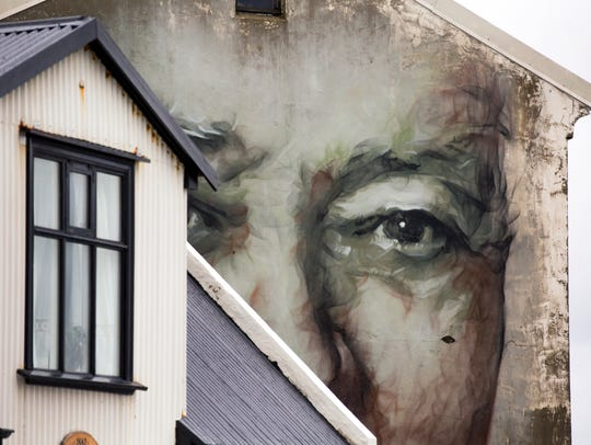YouÕll see murals all over Iceland. YouÕll also see