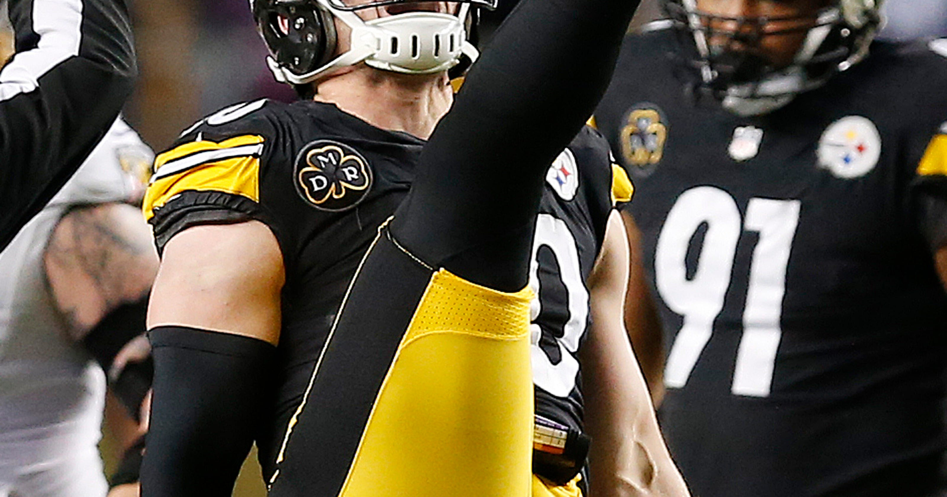 best loved b30c2 14927 Steelers lock up AFC North with 39-38 win over Ravens