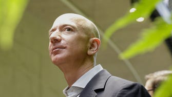 Amazon.com CEO Jeff Bezos tours the facility at the grand opening of the Amazon Spheres in Seattle on Jan. 29, 2018.
