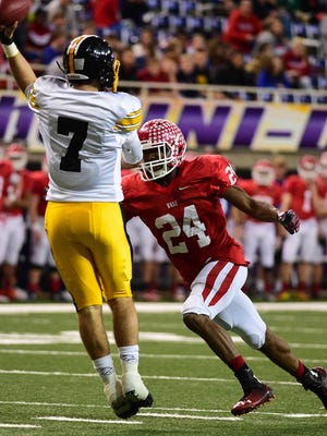 Cedar Rapids Washington linebacker O'Rien Vance morphed into one of the Warriors' most dominant defensive players in recent years.