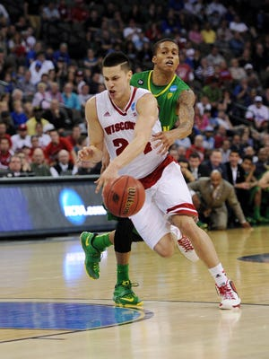 Bronson Koenig has stepped up at guard for Wisconsin.