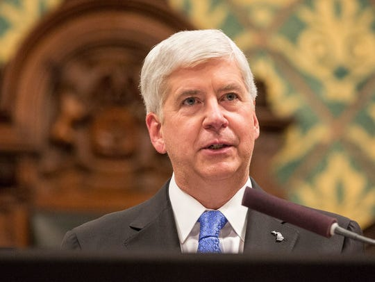 Gov. Rick Snyder delivers his State of the State in