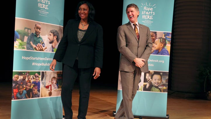 Kresge, Kellogg foundations to invest $50M in early childhood efforts in Detroit