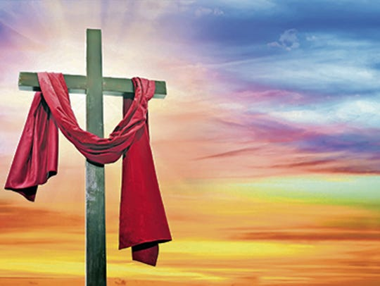 Jesus' resurrection is commemorated on Easter.