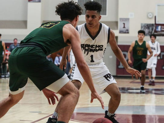 Rancho Mirage senior Marques Prior and the rest of the Rattlers will look to take home a fourth consecutive DAL title without leading scorer Charles Neal and big man Bryan Talley.