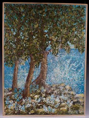 Painting by Mary White, who is featured in Art Show 3 on April 8 at Plum Bottom Pottery & Gallery.