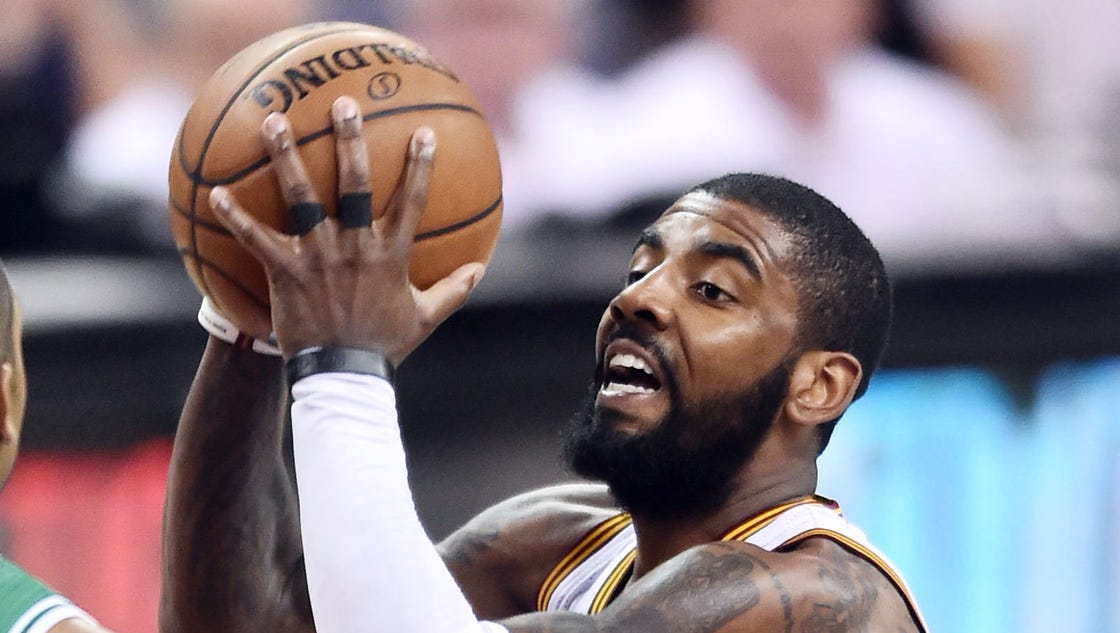 With Kyrie Irving as LeBron James' second, Cavs could be first
