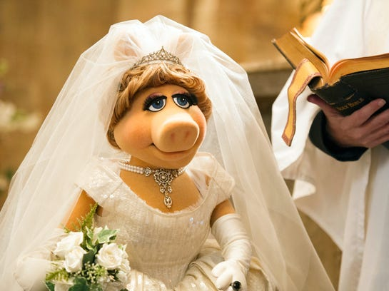 Muppets Most Wanted Weding