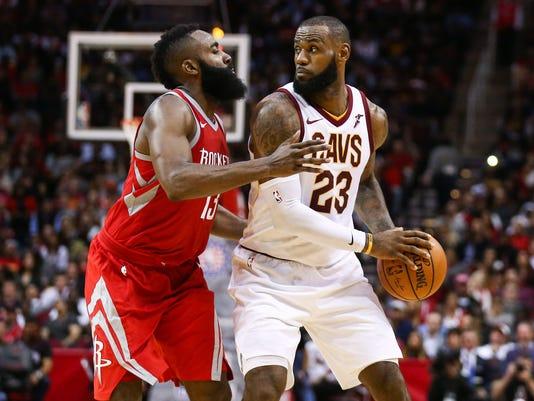 NBA  Cleveland Cavaliers at Houston Rockets 42e1aa679