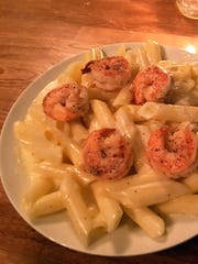 Gluten-free mac and cheese dish from West Main Kitchen