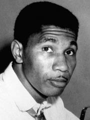 This is a 1955 file photo showing Medgar Evers, serving as state secretary for the NAACP, in Jackson, Miss.