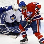 Evan Rankin produced 29 goals, 31 assists and 60 points in 83 games over a season and a half for the Amerks.