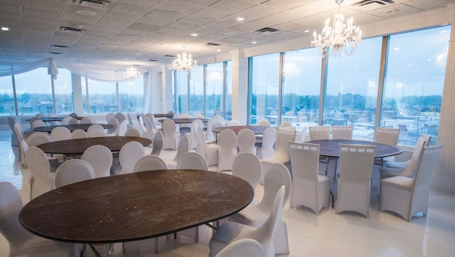 The new banquet area Monday, May 1, at Rix's Roof Top in Port Huron.