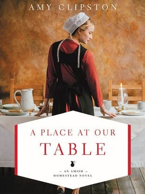 """""""A Place at Our Table"""" by Amy Clipston is the first book in the Amish Homestead series."""