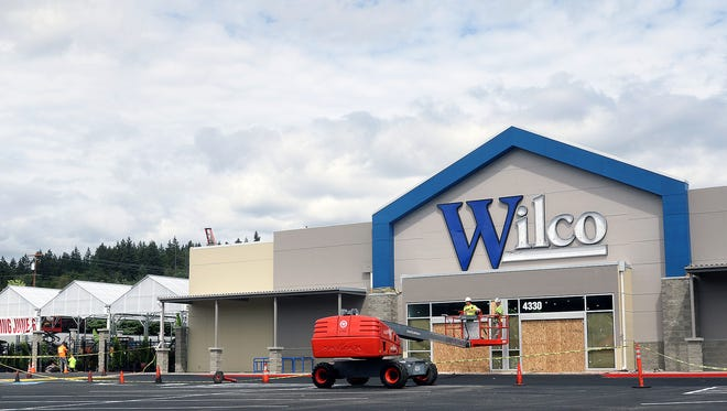 Wilco in East Bremerton is planning a June 6 opening. The business is at Wheaton Way and Riddell.