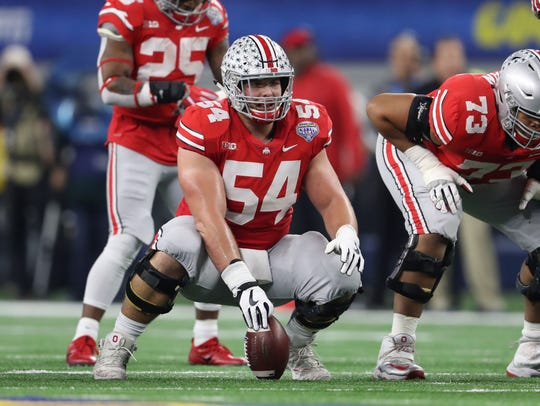 Buckeyes center Billy Price (54) could be an option