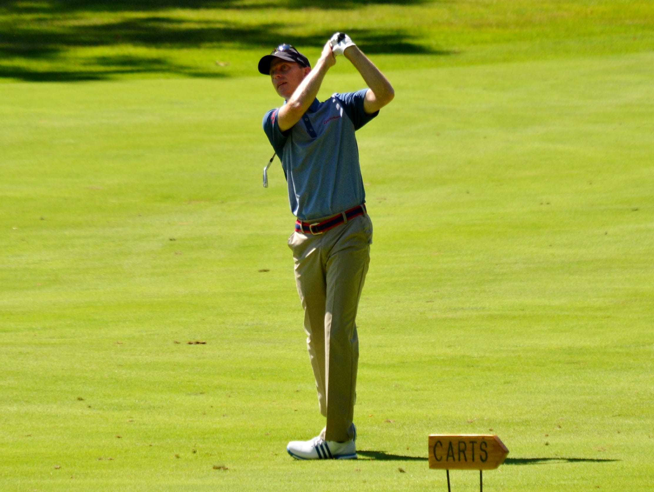Quaker Ridge head pro Brian Gaffney shot a 4-under 68 in the first round of the Westchester Open and is tied for fifth.