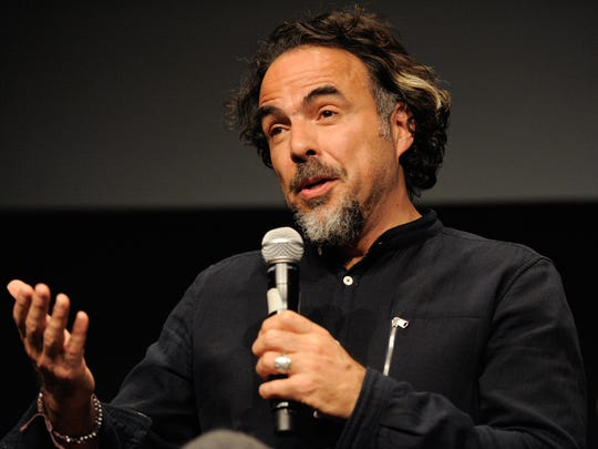 Alejandro G. Inarritu attends The Academy Of Motion Picture Arts And Sciences official Academy screening of 'The Revenant' at NYIT Theatres on December 1, 2015 in New York City.