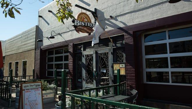 Main Street Bistro, will be closing its doors on Saturday. Photo taken Friday November 11, 2016.