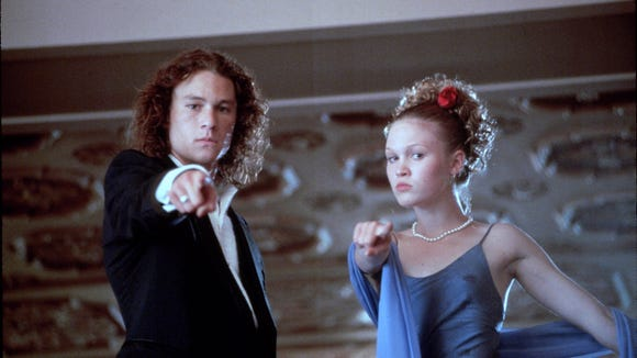 10 Things I Hate About You Movie, Heath Ledger and Julia Stiles
