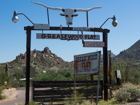 Greasewood Flat