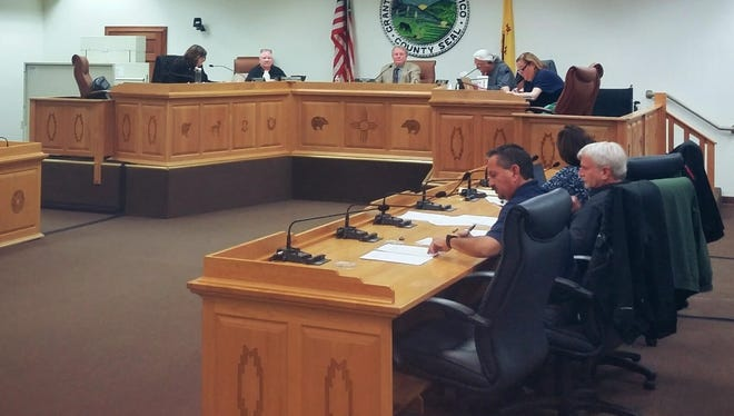 The Silver City Town Council held its first meeting of 2017 Tuesday night.