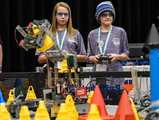 VEX Robotics State Championship 1
