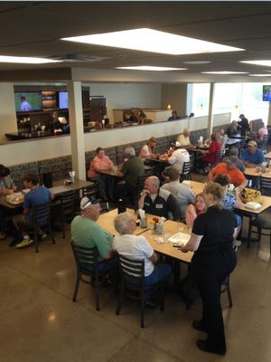 The Hy-Vee Market Cafe in Watertown serves breakfast, lunch and dinner.