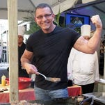 Food Network star and celebrity chef Robert Irvine will show off his cooking skills and more at an Orlando fundraiser on May 18.