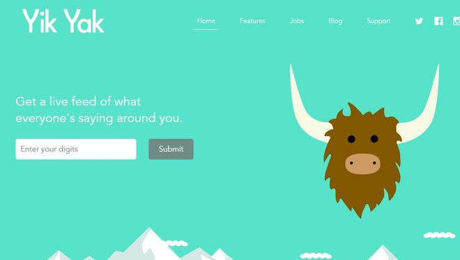 Yik Yak is a social networking app that lets users make anonymous posts.