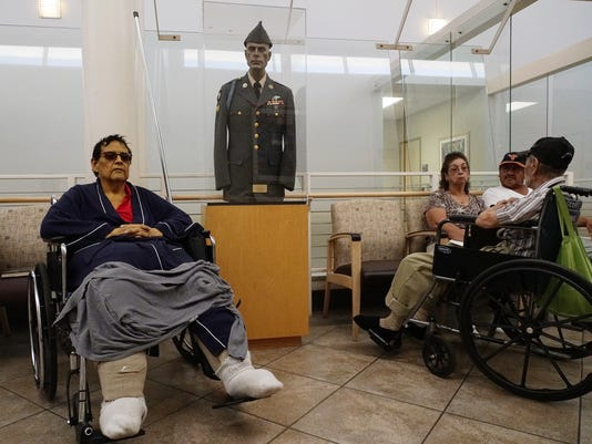 Veterans await care at Phoenix VA hospital