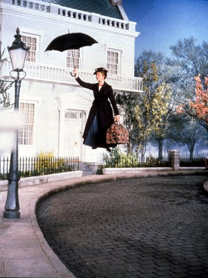 """Mary Poppins,"" the 1964 original, starring Julie Andrews"