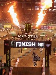 Monster Energy Supercross - University of Phoenix Stadium