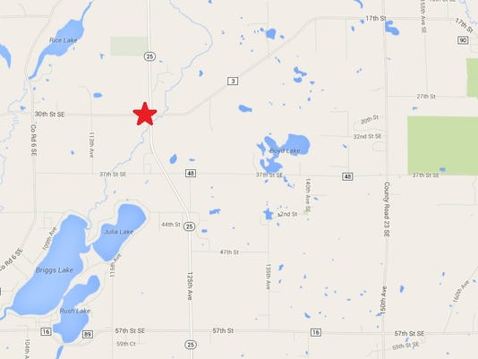 Barn Collapses After Fire In Rural Sherburne County