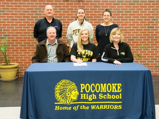 Pocomoke's Lexi Butler is heading to Towson University