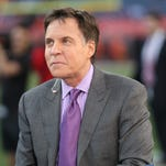 Marv Albert will do boxing on Saturday on NBC along with Bob Costas and Al Michaels.