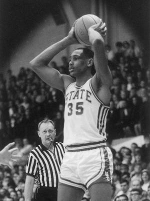 Lee Lafayette was a three-time All-Big Ten selection, who averaged 17 points and 10 rebounds during his career at MSU.