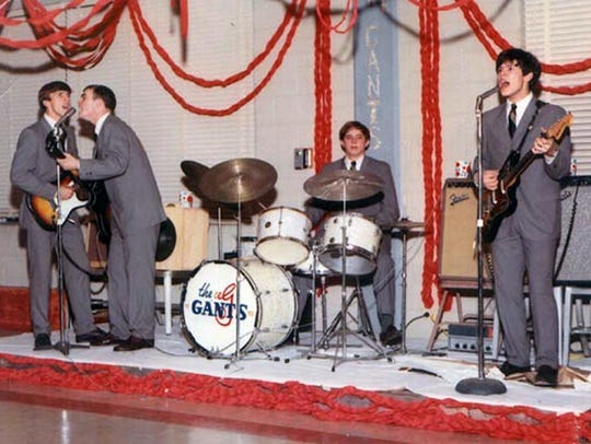 Greenwood rock band The Gants perform a gig in the 1960s. Sid Herring (far right) will perform at a concert benefiting No Greater Sacrifice on Saturday, June 16, at Jackson's Duling Hall.