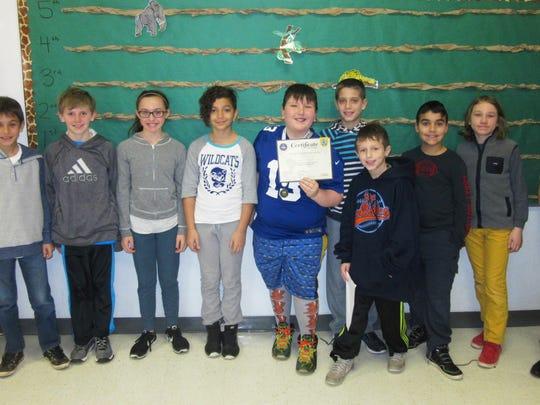 Woodland School 4th grader Jackson Scala hopes to advance